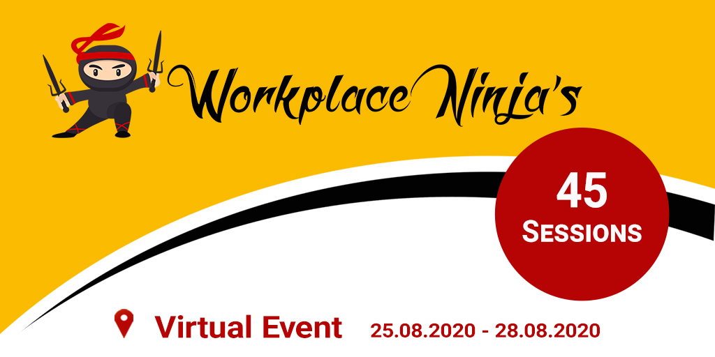 Workplace Ninja Summit 2020 moves to 2021 - Workplace Ninja's